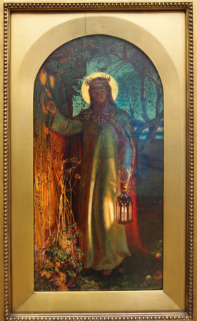 Image result for holman hunt jesus at the door